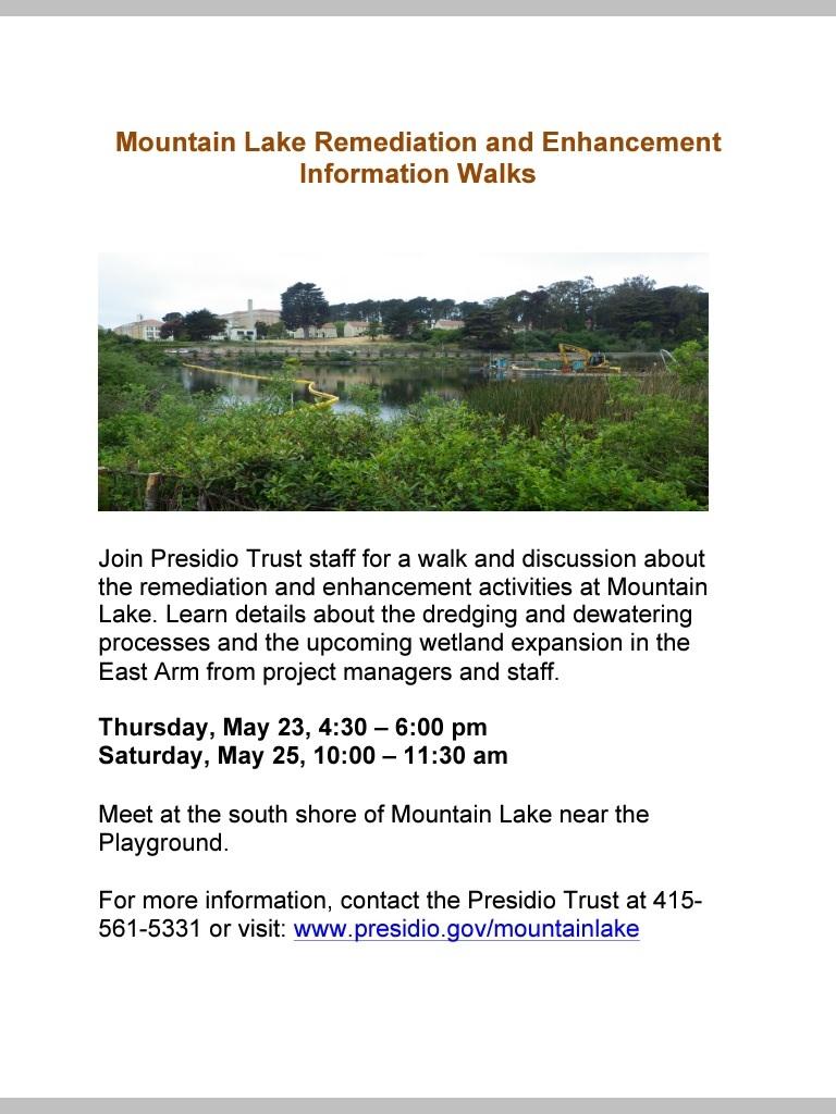 Info walk May 2013